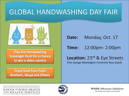 World Pneumonia Day at the Global Handwashing Day Fair, Washington DC, 2011