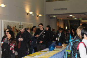 The International Vaccine Access Center and Child Health Society hosted a World Pneumonia Day event for students and staff at Johns Hopkins Bloomberg School of Public Health